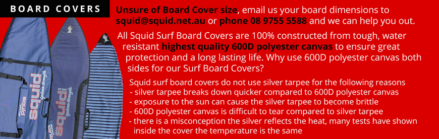 SURF BOARD COVERS
