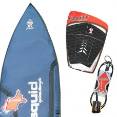 Heavy Duty Short Surf Board Cover Value Pack