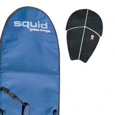 Long Middle Weight Surf Board Cover Value Pack Grip