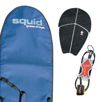 Long Heavy Duty Surf Board Cover Value Pack Extra