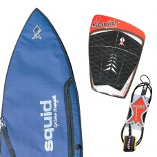Middle Weight Short Surf Board Cover Value Pack
