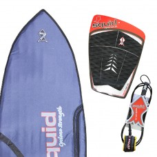 Middle Weight Fish Surf Board Cover Value Pack